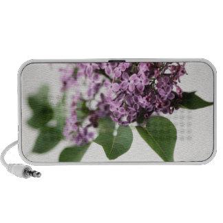 Lilac Flowers Springtime Fragrance Beauty Portable Speaker