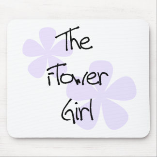 Lilac Flowers The Flower Girl Mouse Pad