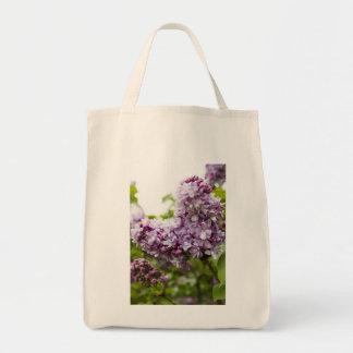 Lilac Heart Tote Bag