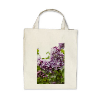 Lilac Heart Tote Bag