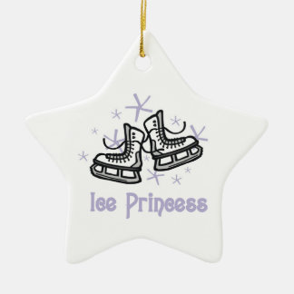 Lilac Ice Princess T shirts and Gifts Christmas Ornament