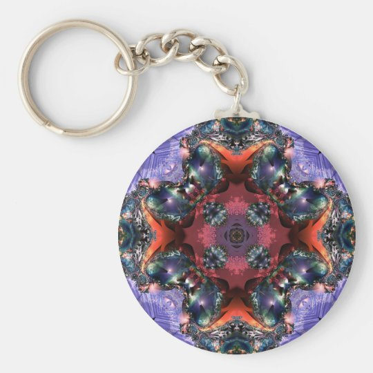 Lilac Jewels 15 Keychain