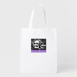 Lilac Knoll Reusable Grocery Bag