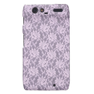Lilac Lace Motorola Droid RAZR Barely There Case Motorola Droid RAZR Case