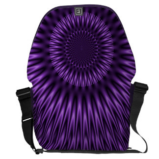 Lilac Lagoon Commuter Bag