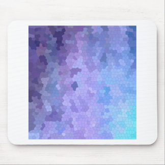 Lilac & Lavendar through Stained Glass Mouse Pad