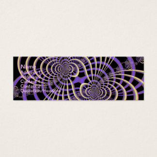 Lilac Lavender Lattice Card
