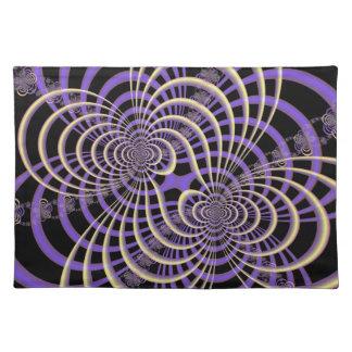 Lilac Lavender Lattice Placemats