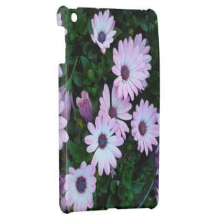 Lilac / Light Purple Flowers Case Cover For The iPad Mini