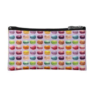 Lilac Macaron Print Cosmetic Bag