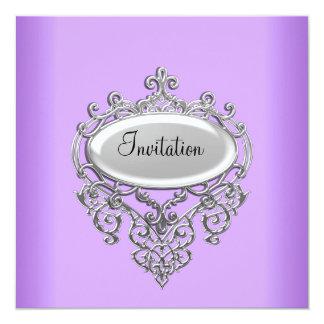 Lilac/Mauve Invitation any Occasion