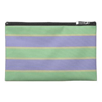 Lilac / Mint Stripes custom accessory bags