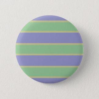 Lilac / Mint Stripes custom button