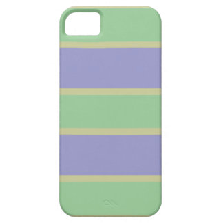 Lilac / Mint Stripes custom iPhone case