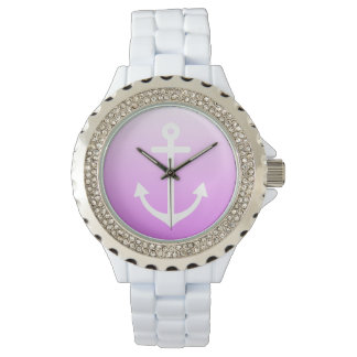 Lilac Ombre Nautical Watch