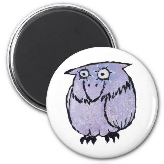 LILAC OWL MAGNET