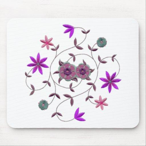 Lilac Plum Spring Flower Garden Mousepad