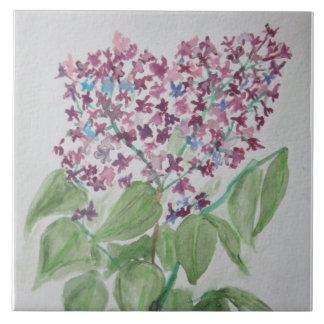 Lilac - Prairie Mile floral tiles