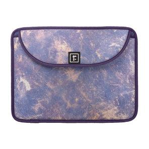 Lilac | Purple Gold Paint Splatter Brushstrokes Sleeve For MacBook Pro