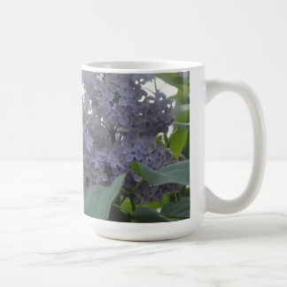 lilac purple lavender lavander flower cup basic white mug