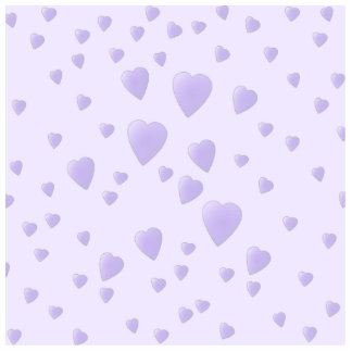 Lilac Purple Pattern of Love Hearts. Standing Photo Sculpture