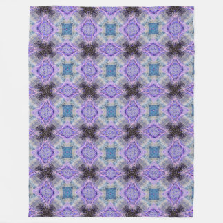 lilac purple retro fantasy pattern blanket