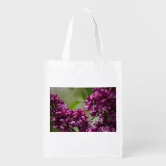 Lilac Grocery Bags