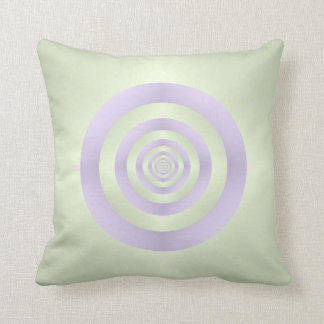 Lilac Rings on Green American MoJo Pillows
