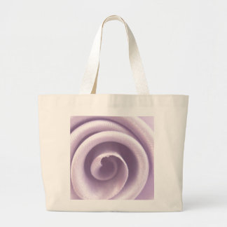 Lilac Rose Canvas Bag