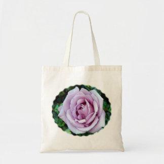 Lilac Rose Budget Tote Bag