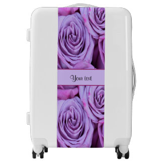 Lilac Roses Luggage