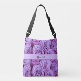 Lilac Roses Tote Bag