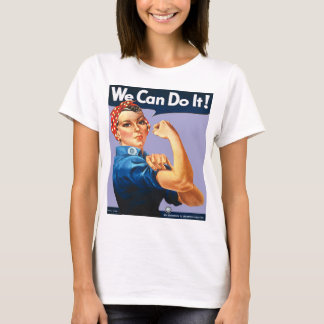 Lilac Rosie the Riveter T-Shirt