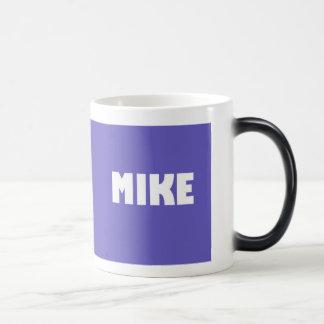 Lilac shade Mike name Magic Mug