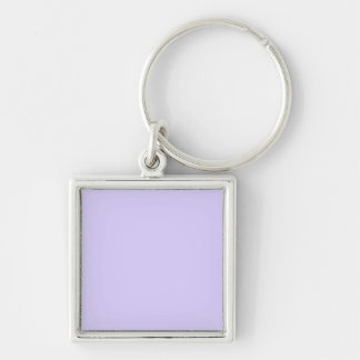 Lilac Solid Color Keychains