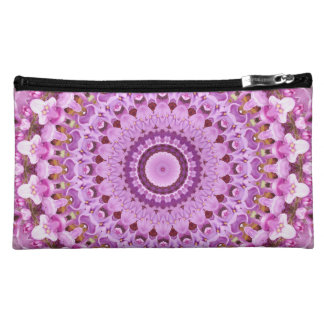 Lilac Starburst (Pink) Cosmetic Bags