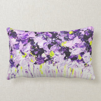 Lilac Summer Floral Cushion