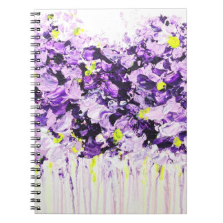 Lilac Summer Floral Notebook
