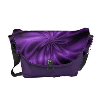 Lilac Swirl Commuter Bag