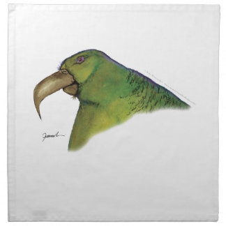 lilac tailed parrotlet, tony fernandes napkin