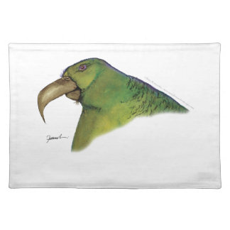 lilac tailed parrotlet, tony fernandes placemat