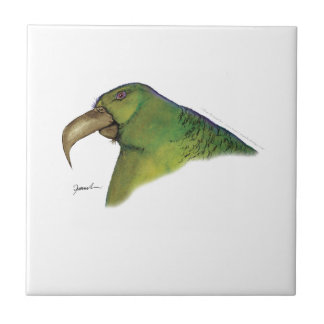 lilac tailed parrotlet, tony fernandes small square tile