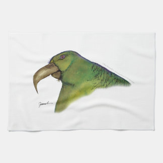 lilac-tailed parrotlet, tony fernandes tea towel