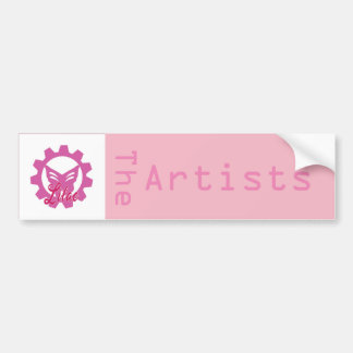 Lilac:The Artists bumper sticker