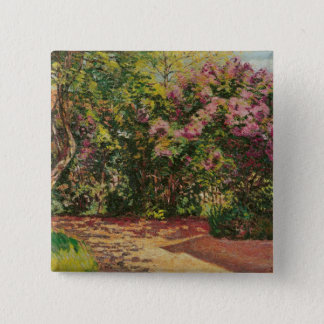 Lilac, the Artist's Garden 15 Cm Square Badge