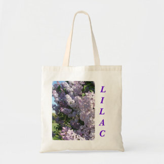 LILAC tote-customize Budget Tote Bag