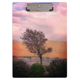 Lilac Tree Clipboard