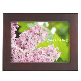 Lilac trinket box keepsake boxes