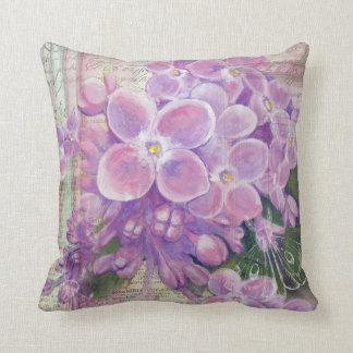 Lilac Vintage pillow