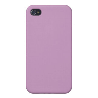 Lilac Violet Purple Color Trend Blank Template iPhone 4 Case